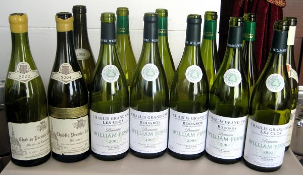 Chablis from Raveneau and William Fevre