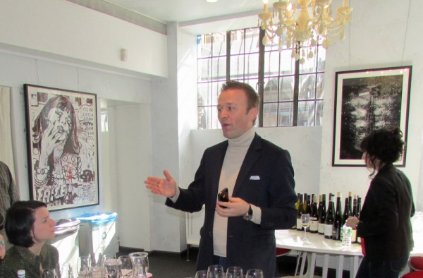Aldo Sohm at Snooth Grüner seminar