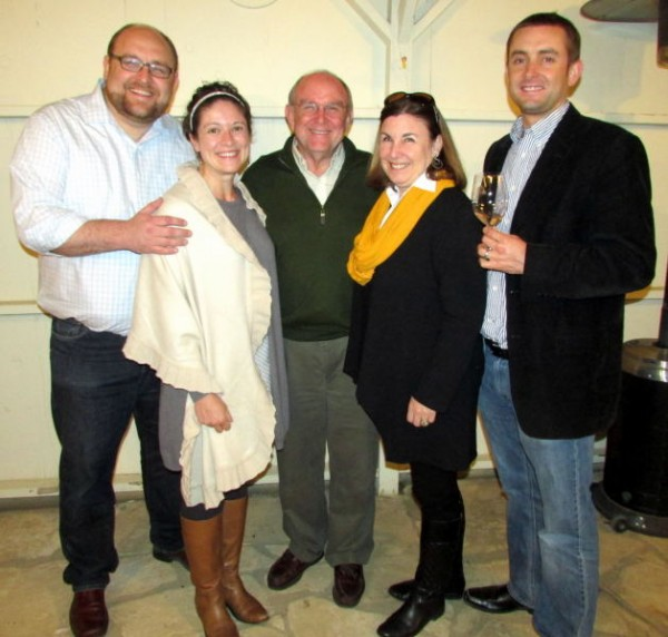 The Miller Family, owners of Bien Nacido and Solomon Hills vineyards
