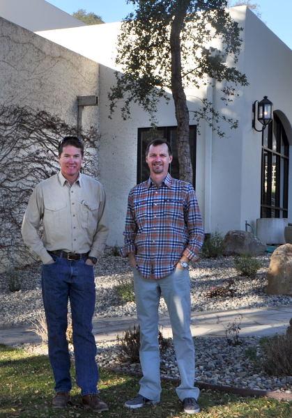 Adam Firestone and Andrew Murray