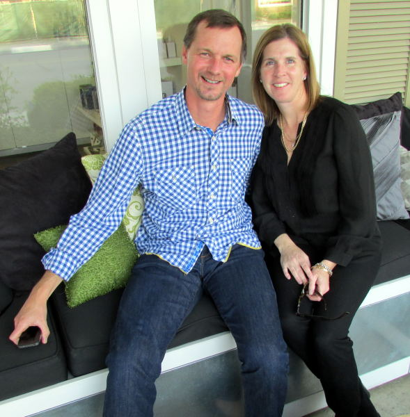 Andrew Murray and wife Kristen